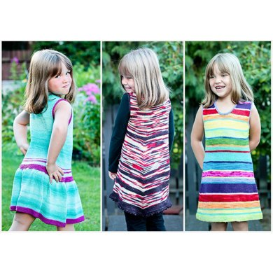 Lollipops and Raindrops Dress (6m-14 yrs)