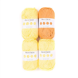 Paintbox Yarns Daisy The Chick - Paintbox Yarns Cotton Aran 4 Ball Colour Pack