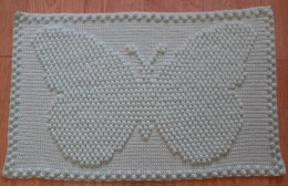 Small Butterfly Baby Blanket