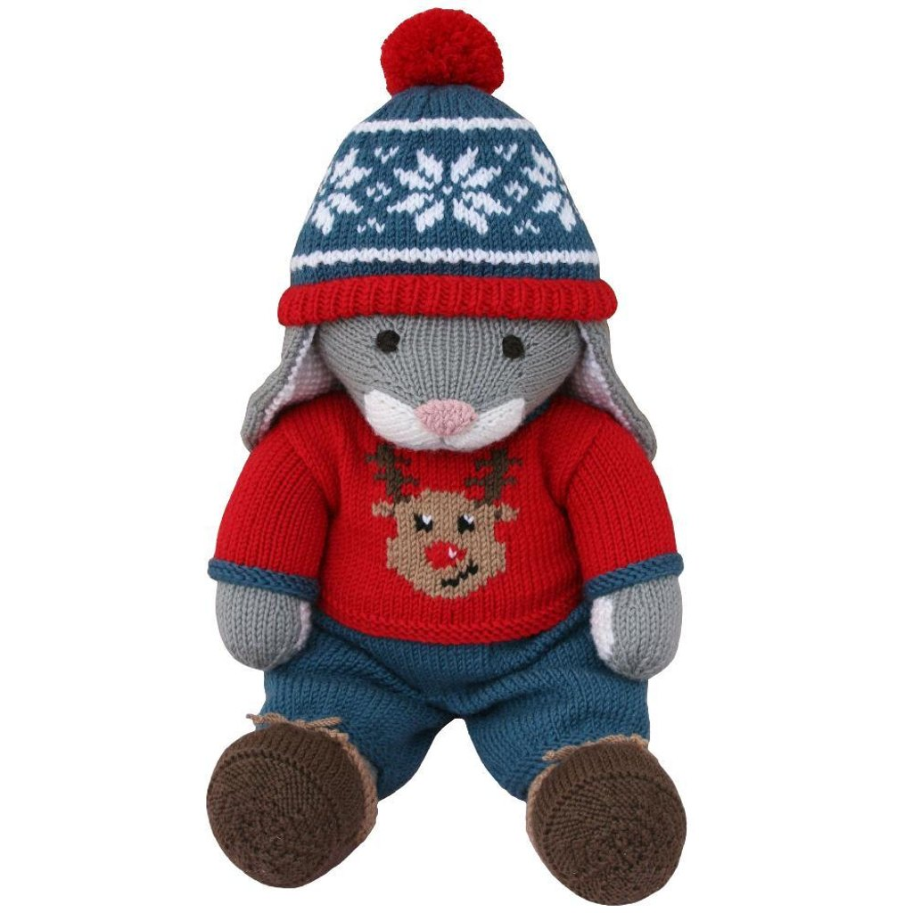 Christmas jumper outfit knit a teddy knitting pattern by knitables home patterns toys christmas jumper outfit knit a teddy zoom bankloansurffo Image collections
