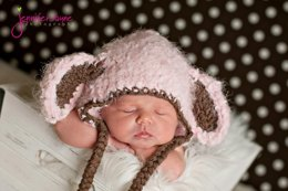 Little lamb crochet hat