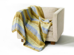 Lafayette Square Throw in Lion Brand Cotton-Ease - 81075AD