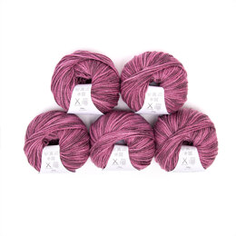 Debbie Bliss Cashmerino Aran Tonals 5 Ball Value Pack