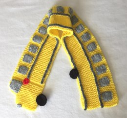 School Bus Neck Scarf