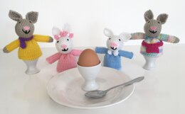 Easter bunny egg cosy 19013