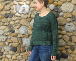Winter Forest Pullover