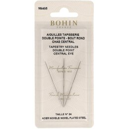 Bohin Double Point Central Eye Tapestry Needle