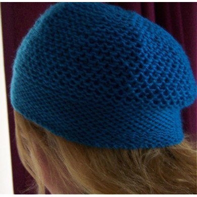 Azure Quilted Hat
