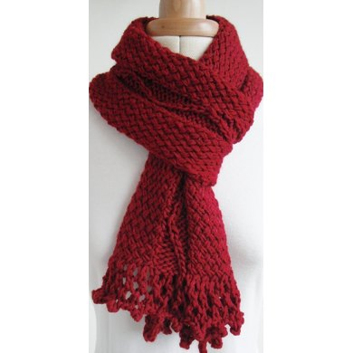 Twist and snake scarf