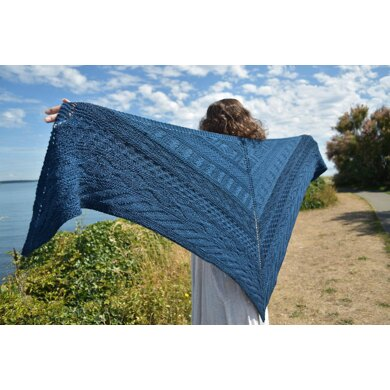 Wet Coast Shawl