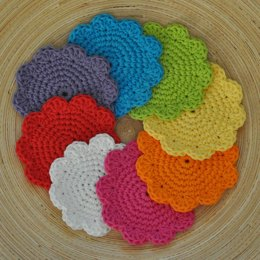 Super Simple Cotton Coasters