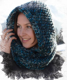 Mount Hood Infinity Scarf in Schachenmayr Lumio Color - Downloadable PDF