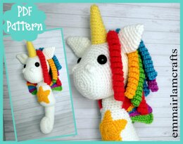Sea Unicorn Crochet Pattern