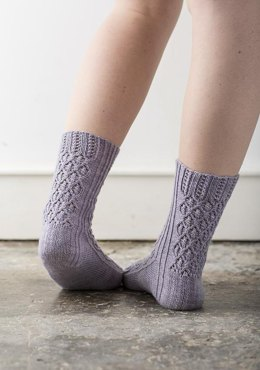 Hyacinth Socks