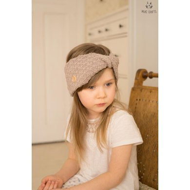 Aiki Twisted Headband Knitting Pattern By Muki Crafts