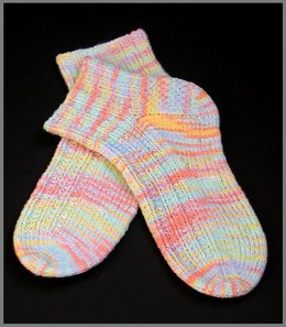 Cool Socks to Knit for Warm Weather