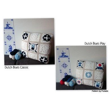Dutch Blues Classic and Play - Cushion/pillow