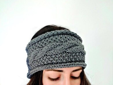 Seeds and Cables Ear Warmer