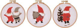 DMC Tomte by Jerry Roupe - Tomte, Sack, Tree
