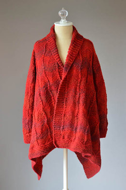Cardinal Jacket in Universal Yarn Major - Downloadable PDF