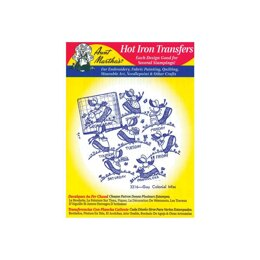 Aunt Martha's Hot Iron Transfers - Days of the Week - TP101 - Leaflet