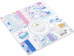 "Doodlebug Double-Sided Paper Pad 6""X6"" 24/Pkg - Winter Wonderland, 12 Designs/2 Each"