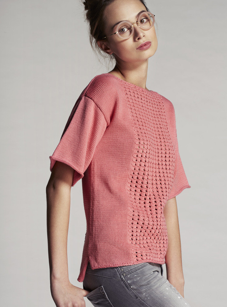 Sweater In Phildar Phil Cotton Downloadable Pdf Free