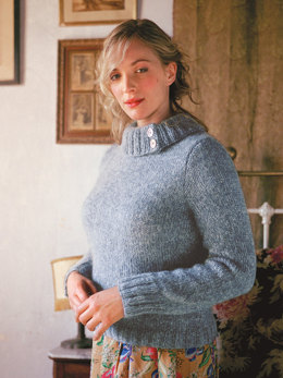 Magnolia Sweater in Rowan Kid Classic