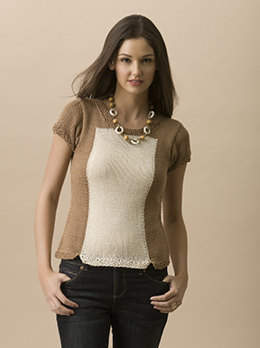 Fair Weather Tee in Tahki Yarns Cotton Classic