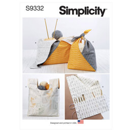 Simplicity Craft Bags S9332 - Sewing Pattern