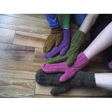 Comfy Mittens Family Style