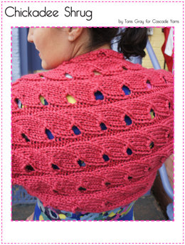 Chickadee Shrug in Cascade Pacific Chunky - C236
