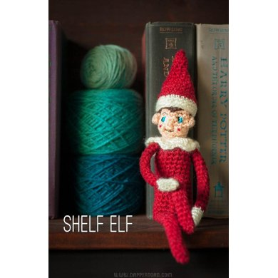 Shelf elf crochet pattern by jill watt knitting patterns for Elf shelf craft show