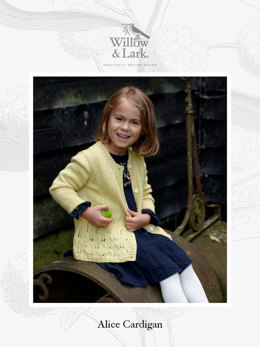 Alice Cardigan in Willow & Lark Nest - Downloadable PDF