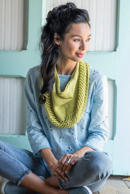 Triteia Cowl in Berroco Modern Cotton - 3-5
