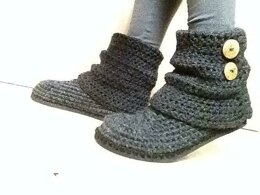 BOOTEE Slippers with flip flops soles