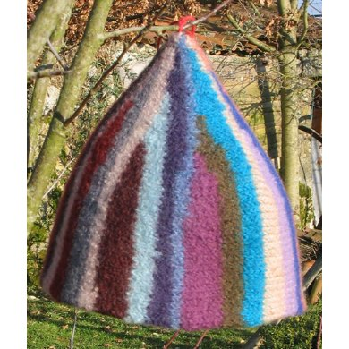Felted pixie hat