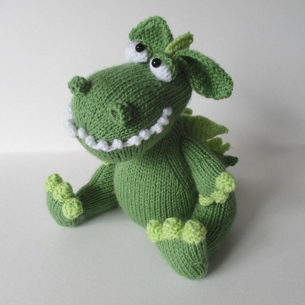 Griff the Dragon Knitting pattern by Amanda Berry | Knitting ...