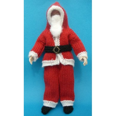 HMC12 Outfit for Santa Claus for the dolls house