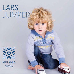 Lars Jumpers in MillaMia Naturally Soft Merino - Downloadable PDF
