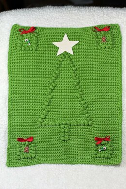 Christmas Tree Blanket Block