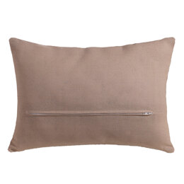 Vervaco Rectangular Cushion Back with Zipper, Natural  - 45cm x 35cm