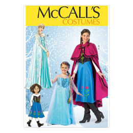 McCall's Misses'/Children's/Girls' Costumes M7000 - Sewing Pattern