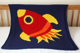 Reach for the Stars baby blanket