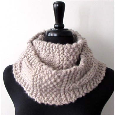 Ample Sample Chunky Scarf Knitting Pattern By Melissa Martinez