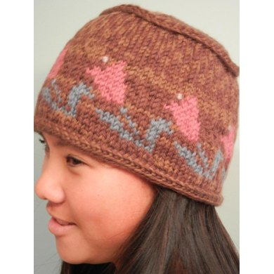 Flat Top Tulip Hat Knitting pattern by Idle Hands Knits | Knitting ...