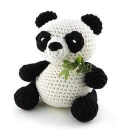 Panda Yin Toy in Hoooked RibbonXL