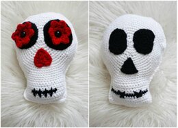 Simple Skull - Sugar Skull Reversible Softie
