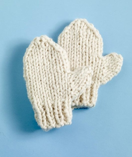 Ulster Mittens in Lion Brand Wool-Ease Thick & Quick - 90165AD Knitting...