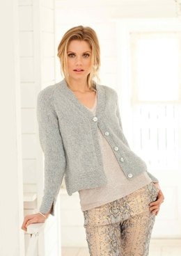 Cardigans in Rico Fashion Metallise Aran - 355 - Downloadable PDF